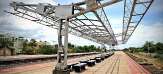 platform shelter